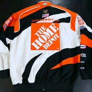 e5ad4d404692e5 chase authentic Jackets   Coats - TONY STEWART CHASE HOME DEPOT racing  jacket